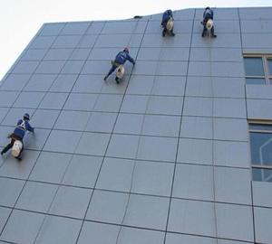 温州市玻璃幕墙清洗